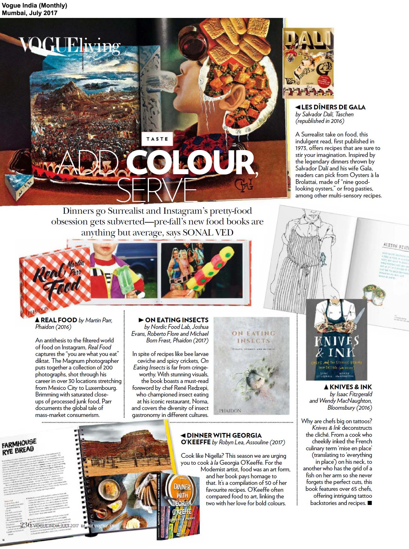 Phaidon Books<br> <span>Vogue India, Mumbai</span>