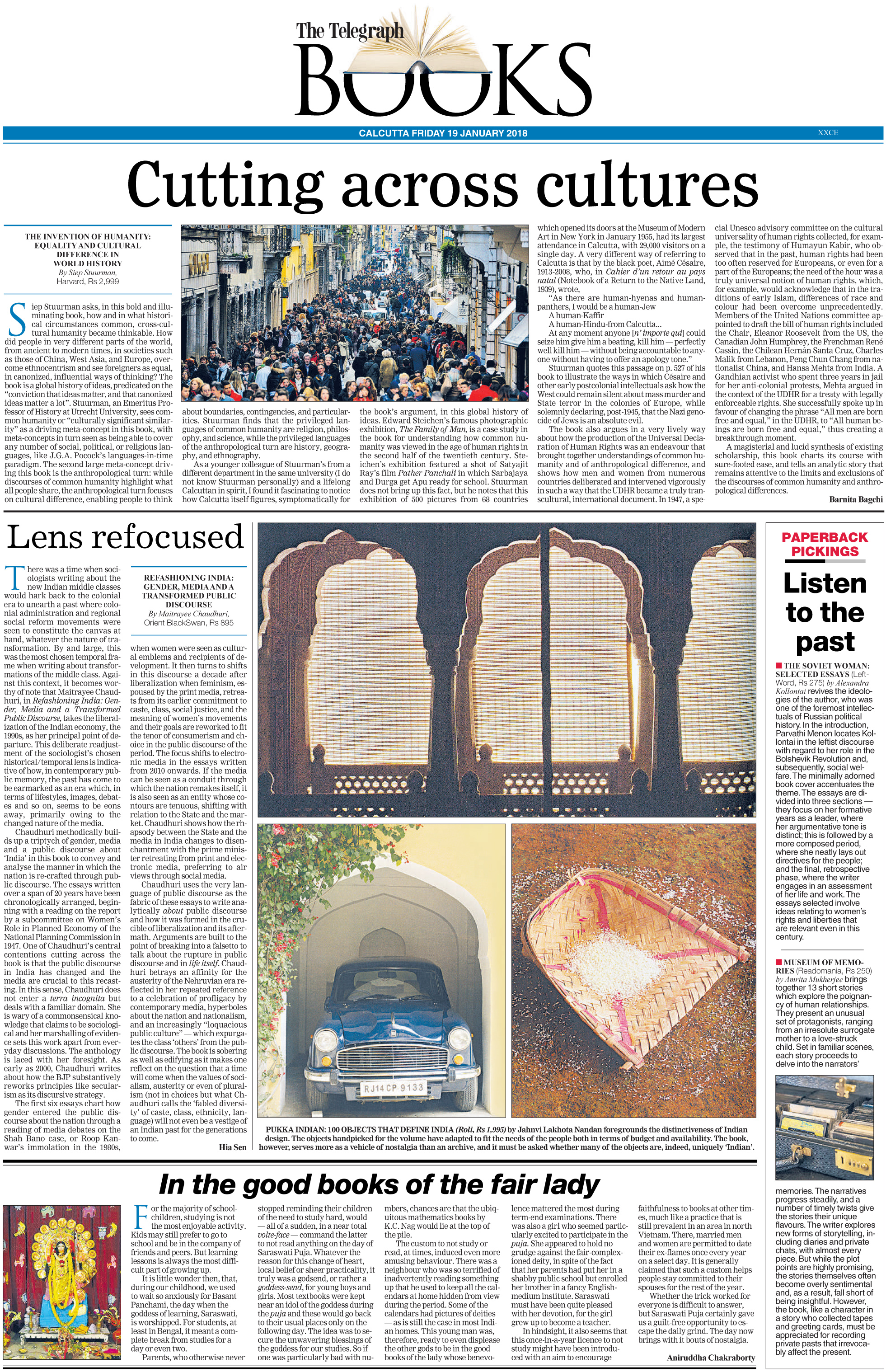 Pukka Indian<br><span>The Telegraph, Kolkata</span>