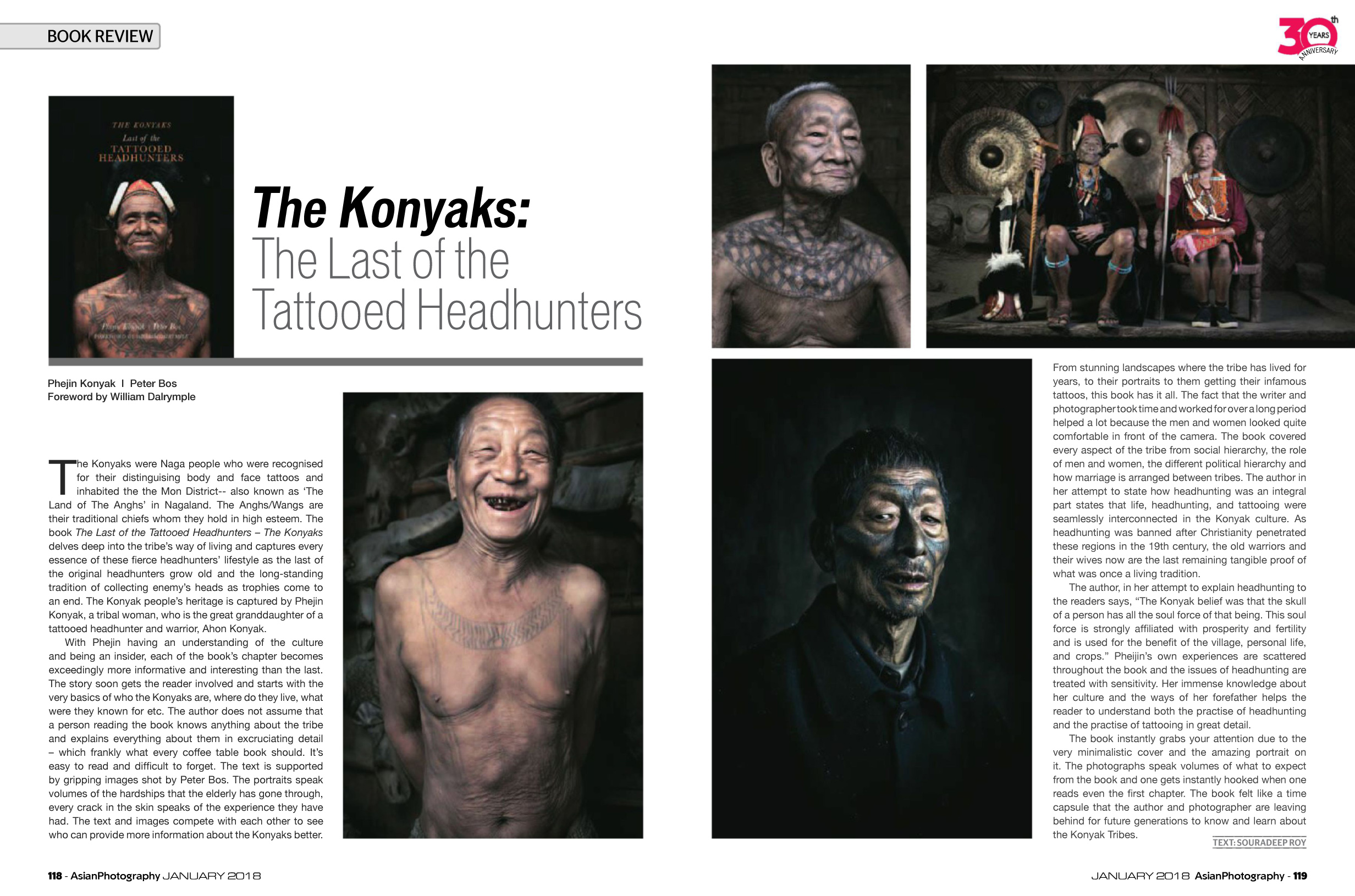 The Konyaks: The Last of the Tattooed Headhunters<br><span>Asian Photography(Monthly), Mumbai</span>