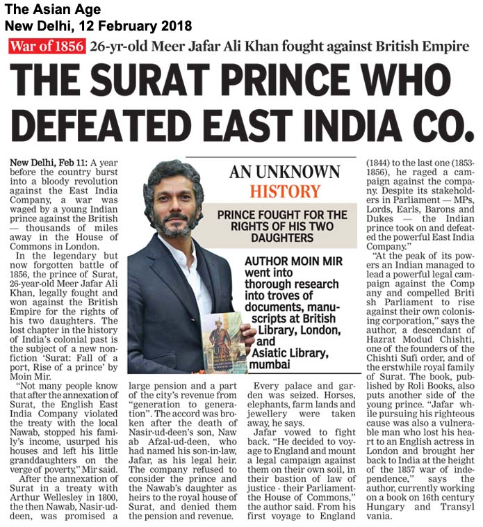 Surat: Fall of a Port, Rise of a Prince<br><span>The Asian Age, New Delhi</span>