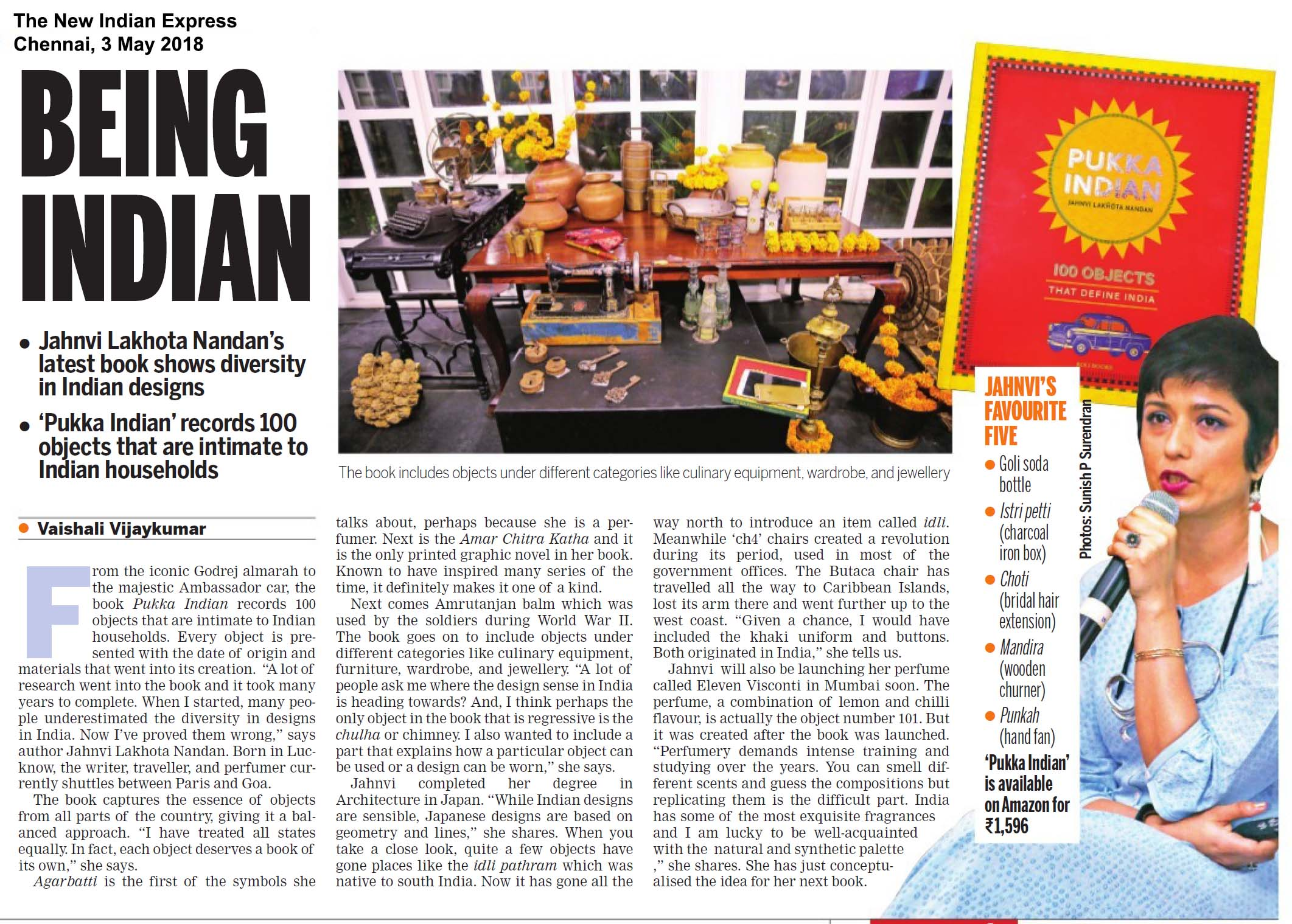 Pukka Indian<br><span>The New Indian Express, Chennai</span>