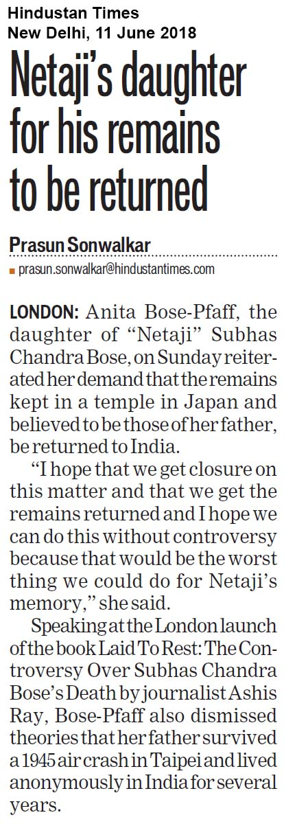 Laid To Rest<br><span>Hindustan Times, New Delhi</span>